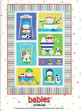 BABIES QUILT QUILTING PATTERN, Fusible Applique From Amy Bradley Designs NEW