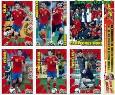 N°5 ESPANA WE ARE THE CHAMPIONS SPECIAL EDITION RARE!! STICKERS EURO 2012 PANINI