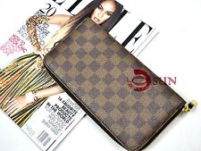 Unisex Faux Leather Passport Holder Travel Documents Long Wallet Purse Organizer