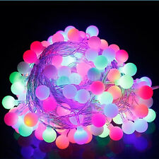 Electric/Solar/Battery Power Operated Outdoor Fairy Lights String 20-600LED Bulb