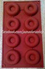Donut Silicone Silicon Rubber Soap Making Jelly Mold Molder