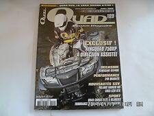 QUAD PASSION MAGAZINE N°109 07/2009 KINGQUAD 750XP 24H QUADAYS POLARIS RANGER H5