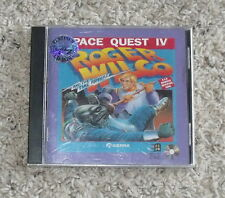 Space Quest IV: Roger Wilco and the Time Rippers (PC, 1991) CD
