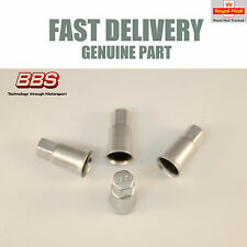 Genuine BBS Valve Dust Caps Aluminium CH CH-R RX  RW CS SR Set of 4 NEW
