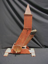 Antique Painted Wooden Mechanical Child's Sand Toy From Pennsylvania