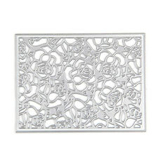 Rose Flower Frame Cutting Dies Stencials Scrapbooking Photo Album Paper Craft