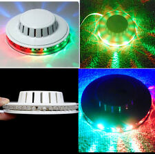 8W Rotating Flying Saucer LED Lamp Light Rotating Party Garden Home Decor Gift