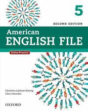 American English File Second Edition 5 Student Book Pack: With Online Practice,