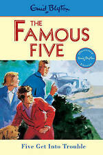 Famous Five: 8: Five Get Into Trouble,VERYGOOD Book