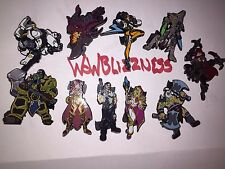 Blizzard Series 2 S2 COMPLETE COLOR (10) PIN SET - TRACER - Blizzcon 2015