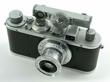 LEICA Standard chrom 1938 Elmar 3,5/50 50mm F3,5 HFOOK M39 classic beauty top