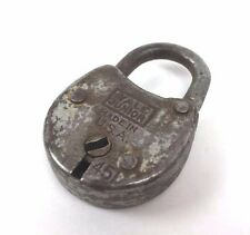 Vtg YALE & TOWNE MFG Junior Jr #451 Pad Lock USA NO KEY Mini Miniature Antique