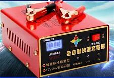 Auto-ID 12/24V Battery Charger For 6AH-105AH Car Motorcycle Lead Acid Battery