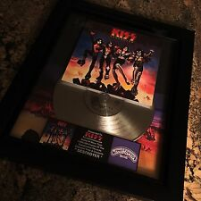 KISS Destroyer Platinum Record Disc Album Music Award MTV RIAA Gene Simmons
