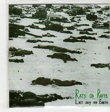 (GN798) Rats On Rafts, Last Day On Earth - 2015 DJ CD