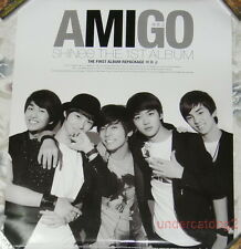 Korea IDOL SHINee the 1st Album Amigo Taiwan Promo Poster