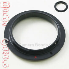 62 MM 62MM Macro Reverse Lens Mount Adapter Ring For Canon EOS EF camera 6D 70D