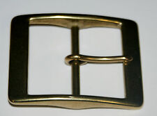 "SOLID BRASS BELT   BUCKLE  TO TAKE A  2""  STRAP"