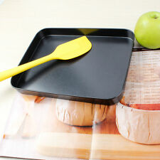 Carbon steel Dish Pizza Pan Non-stick Pie Tray Baking Cake Mould Kitchen Tool