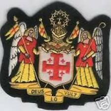 Catholic Church Medieval Crusades Holy Land Knights Order Sepulchre Crest Patch