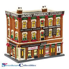Department 56 Christmas In The City Jacobs Pharmacy 4044791 New 2015
