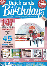 Quick Cards for Birthdays Magazine - Issue 1