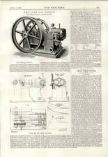1890 The Acme Gas Engine Glasgow Mcghee And Burt