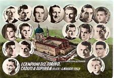 Calcio / I CAMPIONI DEL TORINO CADUTI A SUPERGA  -  4 Maggio 1949