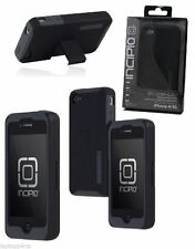 Genuine Incipio Silicrylic ShockProof Case With Kick Stand For iPhone 4s 4 Black