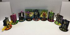 Batman Classic TV Series Lot of 9 Action Figures w/ Stands Mattel Joker Catwoman