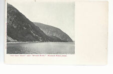 Old Crow Nest & Storm King   Hudson Highlands  River  NY   Unused   Postcard 744