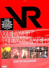 Velvet Revolver:Live in Houston NEW DVD,CONCERT,Guns N Roses,Stone Temple Pilots