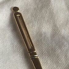 GOLD NEEDLE 18k FRENCH AIGUILLE BOITE COUTURE ERA EMPIRE 19th CASE Hallmark
