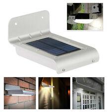 Faro Faretto Led a Energia Solare Sensore PIR Lampada Fotovoltaico Luce Lampione
