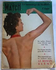 Magazine PARIS MATCH n°28 / Oct. 1949 / Miss France - Tito - Danielle DARRIEUX