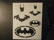 "Batman Dark Knight 8.5"" x 11"" Stencil FAST FREE SHIPPING"