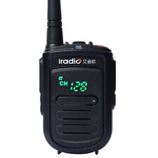New MINI Walkie Talkie iradio CP-168 UHF 400-470MHz 2W handheld Two way radio