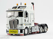 "Kenworth K200 Drake Truck Tractor - ""WHITE & RED"" - 1/50 - TWH #129A-01345"