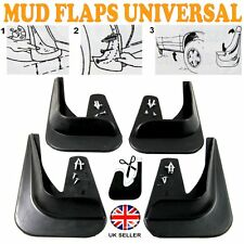 FOR Jaguar S-Type X-Type 4 x MOULDED MUDFLAPS MUD FLAPS Rubber FRONT REAR New