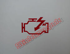 2 X Motor cuadros Decal / Calcomanías de Vinilo para JDM / Off Road O Vans 12 Colores