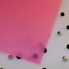 """1/8"""" Frosted Passion Fruit  Cell Cast Acrylic Sheet  24 x 48"""