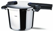 Fissler Vitaquick 8 L / 8.5 qt Pressure Cooker w/ perforated Inset and Tripod
