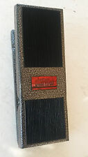 HOTROD CLYDE wide mouth, CUSTOM wah gorgeous silver/black hammertone.