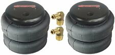 "air bags two 2500 lb with 1/2"" hose elbow for truck tow kit air ride suspension"