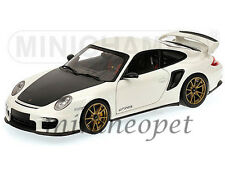 MINICHAMPS 100-069406 2011 PORSCHE 911 997 GT2 RS 1/18 WHITE with BRONZE WHEELS