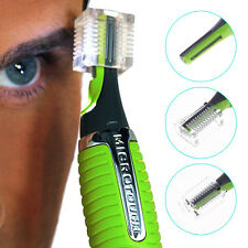 Men Women Hair Trimmer Nose Ear Neck Hair Eyebrows Removal Shaver Comb New