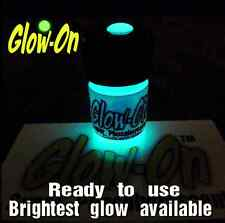 Glow-On Super Phosphorescent AQUA, aqua glow gun sights paint 2.3 ml  vial,
