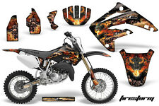 AMR Racing Honda CR85R Graphic Kit Decal Sticker MX Wrap 2003-2007 FIRESTORM BLK