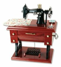 7 inch Musical Sewing Machine Music Box Vintage Look Retro Classical Desk Decor