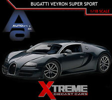 AUTOART 70938 1:18 BUGATTI VEYRON SUPER SPORT EDITION DARK BLUE SUPERCAR